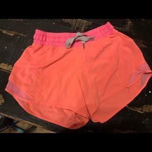 Lululemon sz 6 running shorts